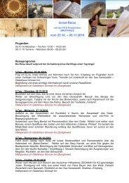 Israel-Reise vom 25.10. – 05.11.2010 - Freie Christengemeinde ...