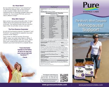 SUGGESTED USE - Pure Essence Labs