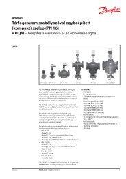 AHQM (DN 15-250)