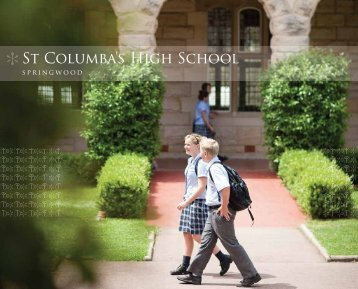 St Columba's High School - The Australian Schools Directory