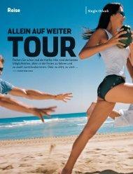 Allein auf weiter Tour - Frosch Sportreisen