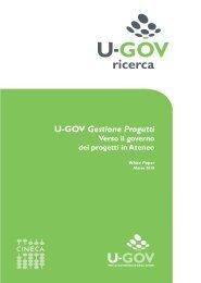 White Paper - U-GOV Gestione Progetti. Verso il governo ... - Cineca