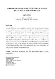 CORRESPONDENCE ANALYSIS IN EXAMINATION OF REASONS ...