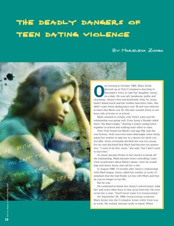 the deadly dangers of teen dating violence - Soroptimist