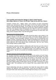 the full press release. (PDF - Hansgrohe