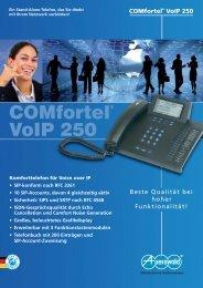COMfortel VoIP 250