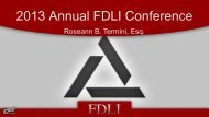 2013 Annual FDLI Conference - Food and Drug Law Institute