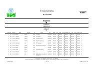 Jedermann - Männer - Vierlanden-Triathlon