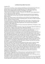 La Rivista di Itaca Italia: Nuova Serie 6 gennaio 2011 Come è noto ...