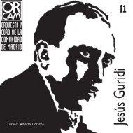 Nº 11: Jesús Guridi - Orquesta y Coro de la Comunidad de Madrid