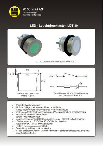 Datenblatt LDT 30 Deutsch - LED