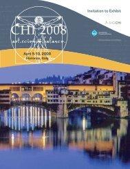 Invitation to Exhibit PDF - CHI 2008