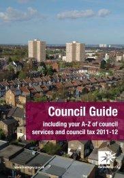 council guide 2011-12.pdf - Haringey Council