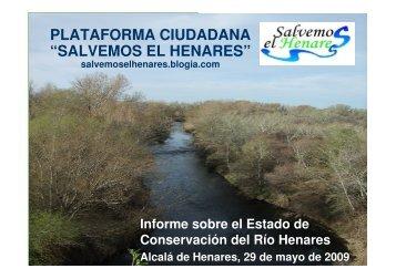 INFORME DEL HENARES - Ecologistas en Acción