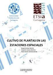 Cultivo de plantas en las estaciones espaciales - Universidad ...