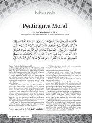 Pentingnya Moral - Kemenag Jatim