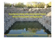 Groundwater Dating with Environmental Tracers - Institut für ...