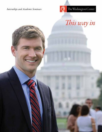 Download this guide - The Washington Center