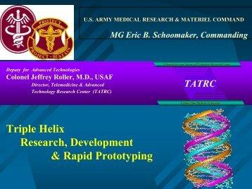 Telemedicine and Advanced Technology Research Center (TATRC ...