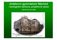 Jiráskovo gymnázium Náchod