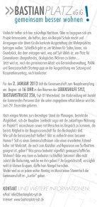 Download: Flyer zum Neujahrsempfang - Bastianplatz - Seite 2
