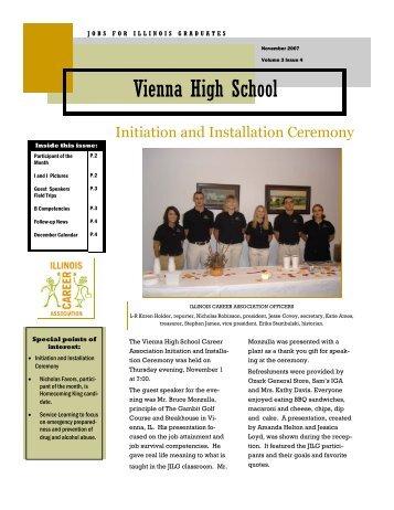 November 2007 - Vienna High School