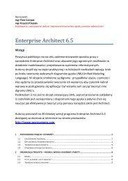 skrypt Enterprise Architect 6 5.pdf