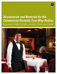 Download Accessories and Batteries for Commercial Series brochure