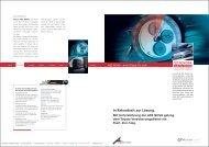 In Rekordzeit zur Lösung. - Ars Nova Software GmbH