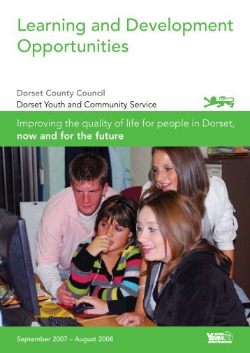 Learning and Development Opportunities - Dorsetforyou.com