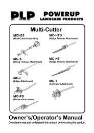 Download the Craftsman Yard Series Owner's Manual - Powerup