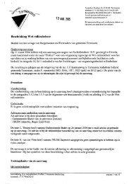Beschikking Wet milieubeheer - ProRail