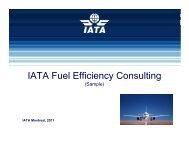 IATA Fuel Efficiency Consulting