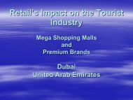 Retails Impact on the Tourism Industry