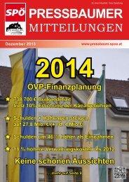 Zeitung-12-2013 - SPÖ Pressbaum