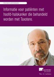 Informatie voor patiënten met hoofd-halskanker die behandeld ...