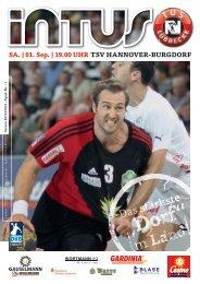DKB Handball-Bundesliga 2012/2013 - Fanclub Red Devils eV