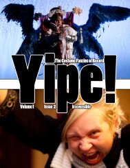 Issue 1.02 (December, 2009) - Yipe!