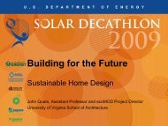 Building for the Future: Sustainable Home Design - Solar Decathlon