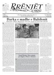 rrënjët - Lajme / News Albemigrant