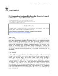 Defining and estimating global marine fisheries bycatch PDF