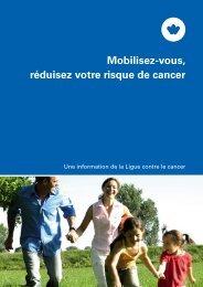 Mobilisez-vous, réduisez votre risque de cancer - Zuginfo