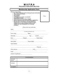 Membership Application Form - mvfra