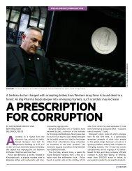 A prescription for corruption - Thomson Reuters