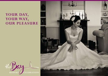 to download our wedding brochure - The Bay Restaurant