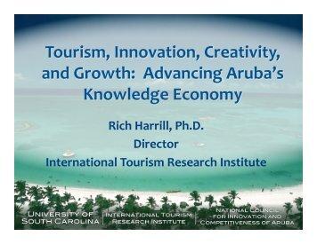 Rich Harrill, Ph.D. Director International Tourism Research Institute