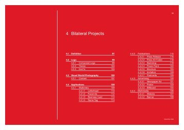 4 Bilateral Projects