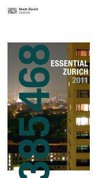 Essential Zurich (PDF, 36 Pages, 996 KB) - Stadt Zürich