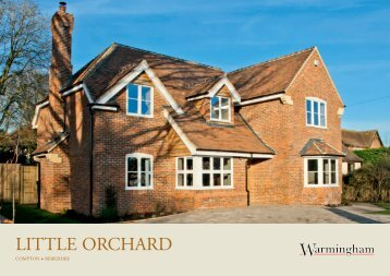 LITTLE ORCHARD - Warmingham