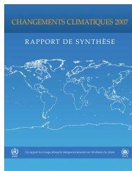 CHANGEMENTS CLIMATIQUES 2007 - Pistes